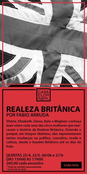 Realeza Britânica por Fabio Arruda