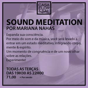 Meditação Casa Flor & Sal